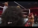 WWE Raw Nikki Bella vs Beth Phoenix - Divas Championship Lumberjill Match