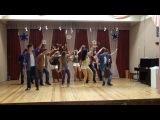 Конкурс массового танца 2012г , 10В