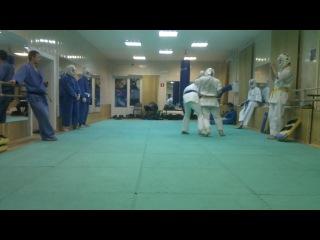 Учебные бои в клубе Варяг от 02-02-2012 другой ракурс