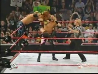 WWE RAW 15.12.2003 Chris Jericho and Christian vs. Trish Stratus and Lita (Battle of the Sexes match)