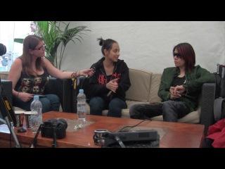Natalie (Onslaught Radio) & Die (DIR EN GREY) - Interview at Download Festival 2013 [2013.06.14 Onslaught Radio]