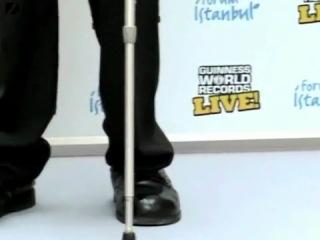 самый большой человек и самый маленький человек в мире вместе