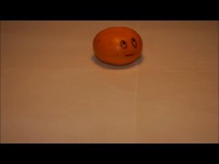 История одной мандаринки (моя первая работа) Я не автор