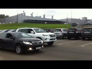 Toyota Camry vs. Lexus LX 570