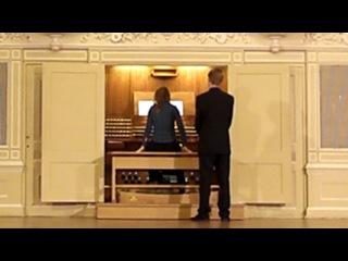 Вечер органной музыки в Санкт-Петербургской консерватории.