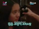 f(x) Krystal looks like a black cat  by Sulli