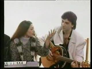 Группа Кабриолет (Александр-вокал и гитара, Светлана-вокал, Станислав-клавиши) - Джэлэм (цыганский гимн и беседа в телестудии)