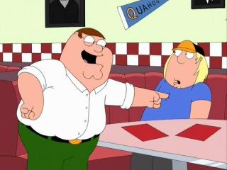 Family Guy - Все на свете знают про птиц и синиц! (The Trashman - Surfin Bird Cover)