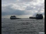 Керчь. Кораблекрушение танкеров.