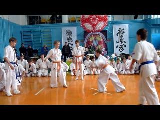 І-й Чемпіонат м.Первомайська з кіокушин карате