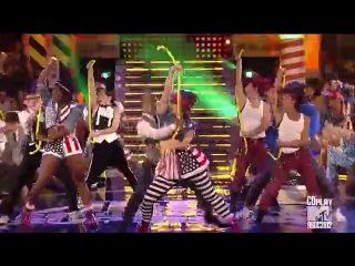 Танец под песню We Found Love на шоу American Dance Best Crew