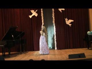 Олеся Тугаева - Эхо любви. Концерт класса НА КРЫЛЬЯХ ПЕСНИ 31.05.2013