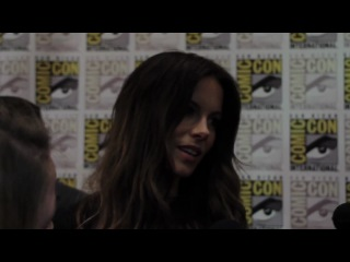 Kate Beckinsale Discusses Underworld 4 and Total Recall at Comic-Con
