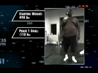 Программа похудения Дана - Экстремальное преображение 1 сезон 3 серия