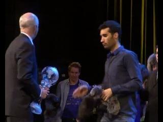 Церемония награждения лучших биатлонистов сезона 2011/12 + проводы из спорта М.Нойнер и Х.Экхольм