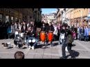 уличные музыканты  питер