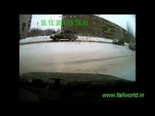 Мегаподборка аварий за 2011 год на полтора часа