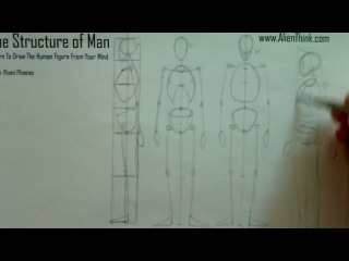 The Structure of Man learn to draw the human figure from your mind with Riven Phoenix 6