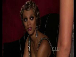 Gossip Girl|Сплетница|3 сезон|4 серия ( 5 появление Тайры Бэнкс )(англ.)