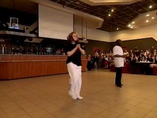 Хип-хоп Мабиала Жильберт и Ольга Спицина