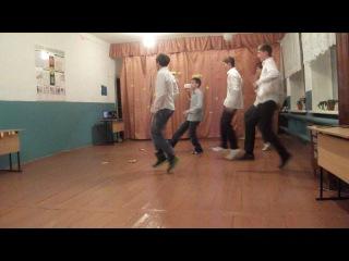 танец наших пацанов))молорики ребята=)) это было так давно(скучаю(
