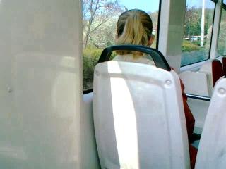 Flash in tram