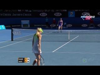 Australian Open 2012 Мария Шарапова vs Петра Квитова