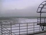 шторм 7 февраля в гурзуфе снимал я.