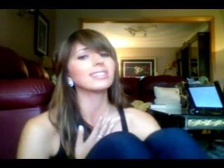 white girl singing in hindi