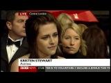 Kirsten Stewart - BAFTA 2010 red carpet interview (BBC News, 21.02.10)