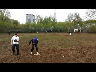 Открытый чемпионат УдГУ по бейсболу 2012 - Пик-офф на 2-ю от Рики