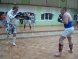 Паша vs Вован 2 раунд) (Кик-боксинг)