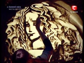 Великая Отечественная война (Рисунки песком на стекле,Ксения Симонова)