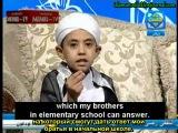 Египетский маленький проповедник толкует хадис о запретности пения и музыки.
