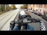 Вот как надо ездить на скутерах по городу