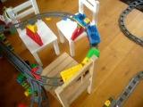 Лего дупло железная дорога. З уровня! Это надо видеть! Lego duplo.