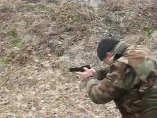 Стрельба из пистолета Ярыгина ПЯ МР-443