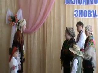 Суперечка Кайдашів 8 березня 2012 Олексіївська ЗШ