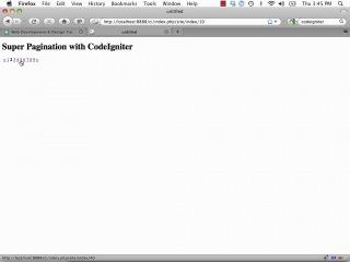 CodeIgniter. День 7: Pagination.