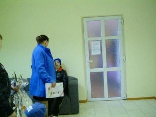 Встречаем Катю с доченькой с роддома:)