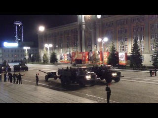 Генеральная тренировка парада 2013 Екатеринбург ч.3