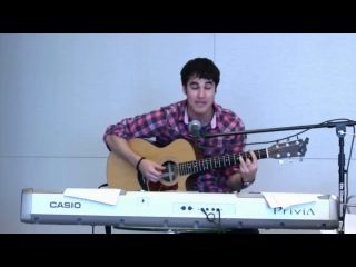 Darren Criss - Misery/This Love Mash-up (live)