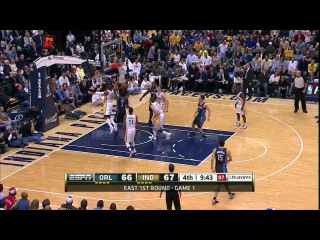 NBA Playoffs 2012 / East / 1st Round / Games 1- / 28.04.2012 / Indiana Pacers vs Orlando Magic 2