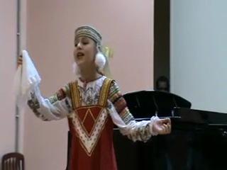 христина белова - песня валенки