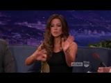 Conan 2012.01.16 Kate Beckinsale