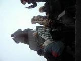 Женщина из Зеленогорска на митинге в Красноярске 10.12.11