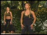 Упражнения для бёдер и ягодиц (тренировка с Дженет Дженкинс)