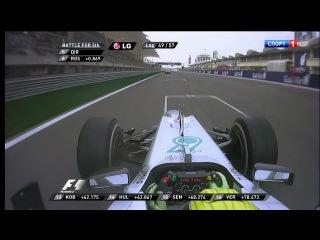Formula 1. Гран-При Бахрейна (2012): Гонка (часть 2)
