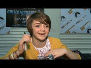 40 - Maisie Williams interview for Game of Thrones