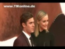 Zac Efron at the Berlin premiere of The Lucky One